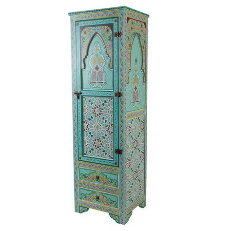 schrank weiß holz marokkanischer holz schrank jamal bei ihrem orient shop casa moro
