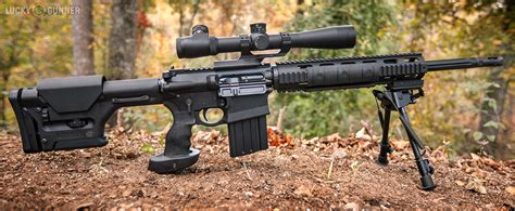 A Look At The Dpms Gii Sass .308 Rifle