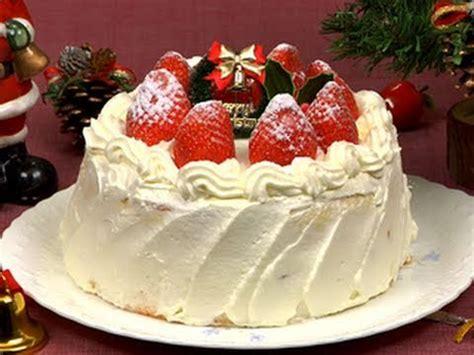 christmas cake strawberry sponge cake recipe