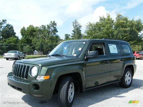 dark green jeep patriot 2008 jeep green metallic jeep patriot sport 544440