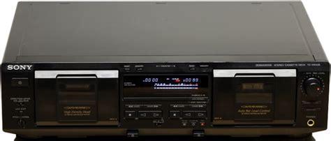 Sony Tcwe435 Tape Deck