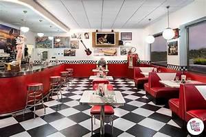 American Diner Einrichtung : mobiliario retro diner americano y jukebox ~ Sanjose-hotels-ca.com Haus und Dekorationen