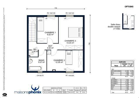 plan maison plain pied 2 chambres garage plan maison phenix plain pied 2 chambres