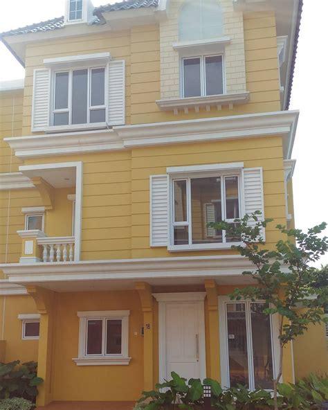 warna cat rumah elegan mewah desain rumah
