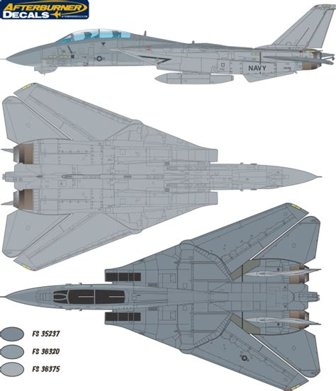 Here Is The Grumman F-14 Tomcat Tactical Camouflage Color