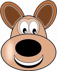 Smiley Dog Face Clip Art at Clker.com - vector clip art ...