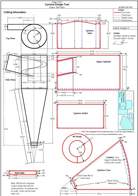 dust collection research cyclone plans shop dust