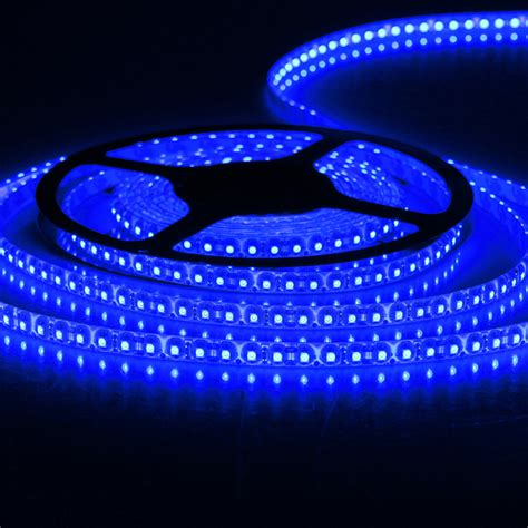 blue 5m led light waterproof smd 3528 12v dc 600 led