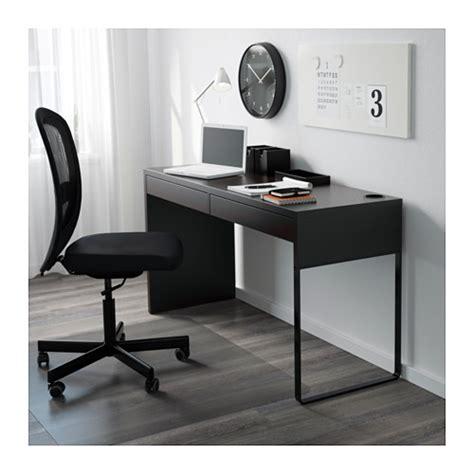 bureau noir ikea micke desk black brown 142x50 cm ikea