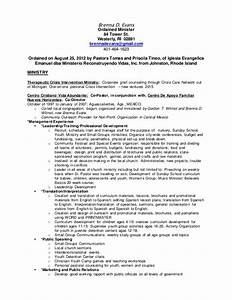 2015 ministry resume b With how to write a ministry resume
