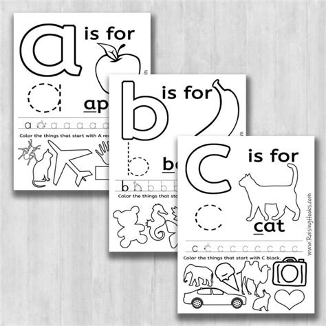 learning  alphabet worksheets worksheets