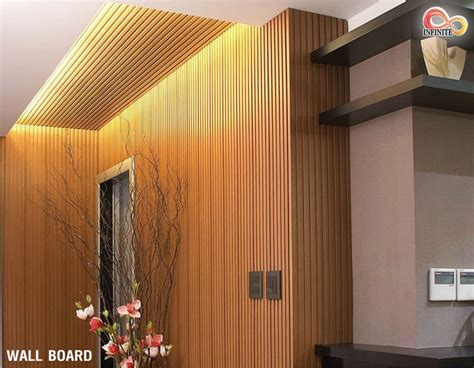 Wallboard ไม้เทียมตกแต่งผนังและเพดาน - Infinite Floor ...