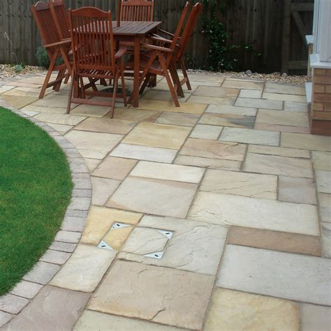 sandstone patio how to clean seal sandstone protect your sandstone today tiles ie