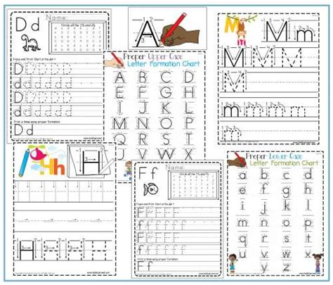letter formation handwriting therapy resources tools