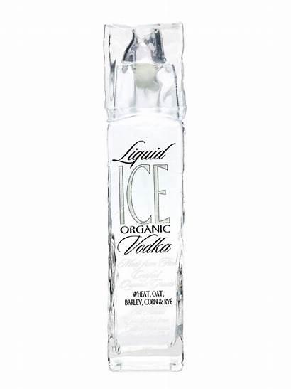Vodka Ice Liquid Organic Bottle Drinks Getdrawings
