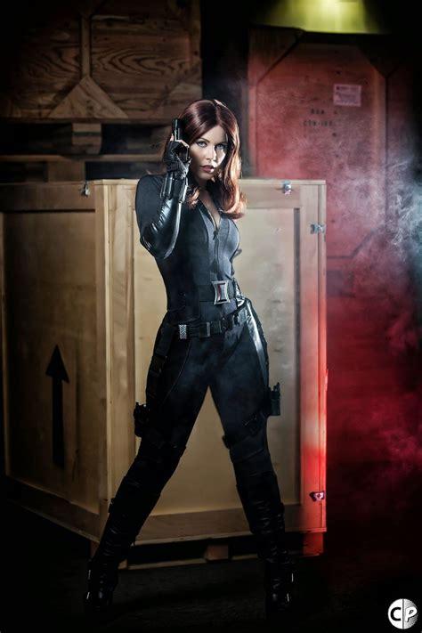 elarte cosplay marvel universe black widow cosplay