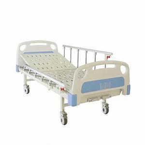 China Economic Two-cranks Manual Medical Bed
