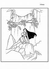 Pocahontas Coloring Pages Para Naturaleza Printable Disney Colorear Coloriage Curious Print Hellokids Dibujos Princesse Drawing Smith Princess Dibujar John Dibujo sketch template