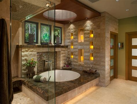 natures feel   asian themed bathrooms home
