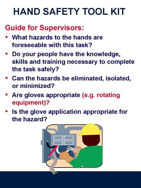 hand safety tool kit prezentatsiya onlayn