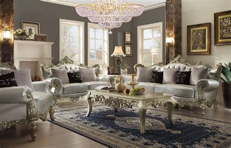 Upholstered Bench Living Room by Homey Design Upholstery Living Room Set