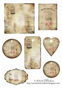Free Printable Vintage French Gift Tags | scrapbook ideas ...