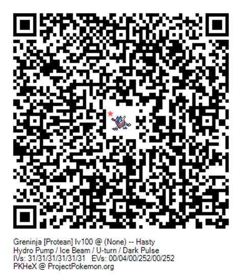 Ash Greninja QR Code | Mungfali