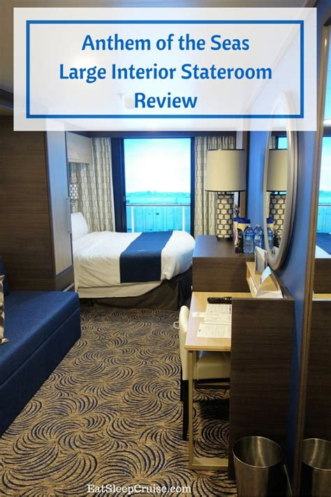 Cabin Plan Anthem Of The Seas by Anthem Of The Seas Large Interior Stateroom Review