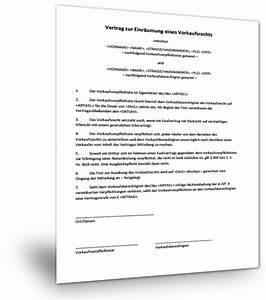 Rückabwicklung Kaufvertrag Immobilie Durch Käufer : mustervertrag vorkaufsrecht musterix ~ Lizthompson.info Haus und Dekorationen