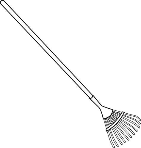 bw rake clip art  clkercom vector clip art