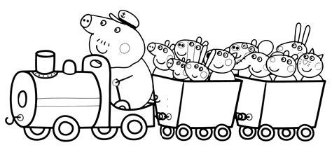 disegni da colorare e stare peppa pig 30 stare disegni da colorare di peppa pig da stare