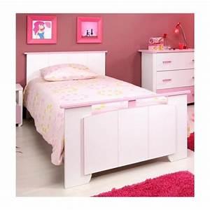Chambre Complete Fille : chambre fille blanche et rose avec armoire 3 portes candy achat vente chambre complete pas ~ Teatrodelosmanantiales.com Idées de Décoration