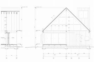 Gable Roof Section Drawing