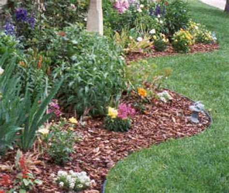 flower bed mulch ideas d i y d e s i g n curb appeal part 2 the landscaping