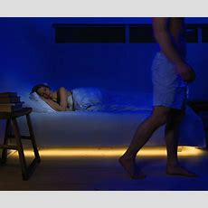 Bed Light  Discreet Motionactivated Under The Bed