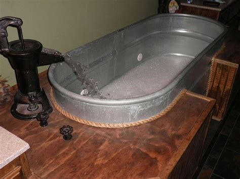 horse trough jacuzzi country pinterest