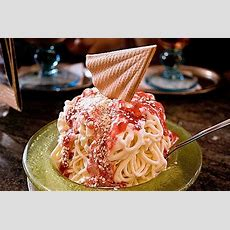 Dessert Girl Spaghetti Ice Cream