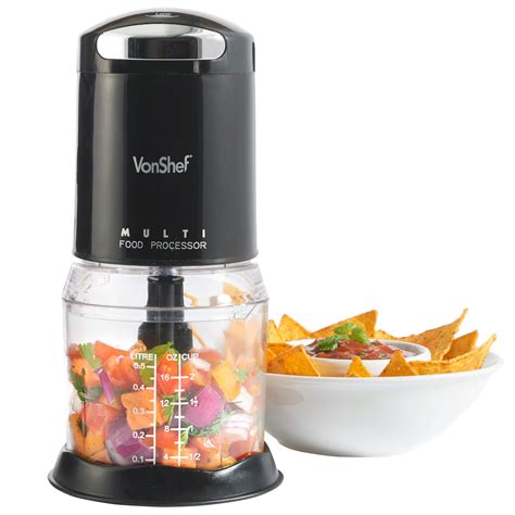 am駭agement mini cuisine vonshef food chopper processor mini electric kitchen 250w mixer blender black ebay