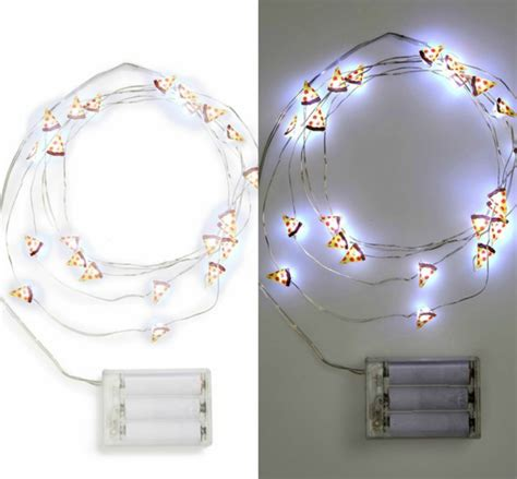 pizza string lights brighten your bedroom with these beautiful bulbs