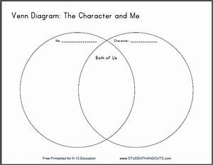 Character And Me Venn Diagram Worksheet