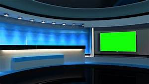 Modern, Clean News / Virtual News Studio Background. This ...
