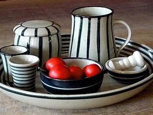 Butterdose Keramik Weiß : keramik im steigerwald keramik schwarz weiss p1000617 ~ Watch28wear.com Haus und Dekorationen