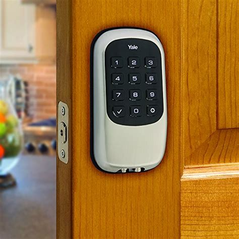yale z wave b1l lock push button works with