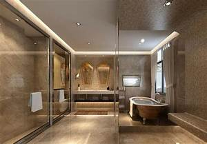 Plafond salle de bain peinture et style en 40 idees for Salle de bain design avec plaque décorative plafond