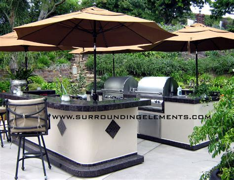 Barbecue Islands by Surrounding Elements   Custom Outdoor