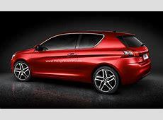 New Peugeot 308 3Door Rendering Revealed autoevolution