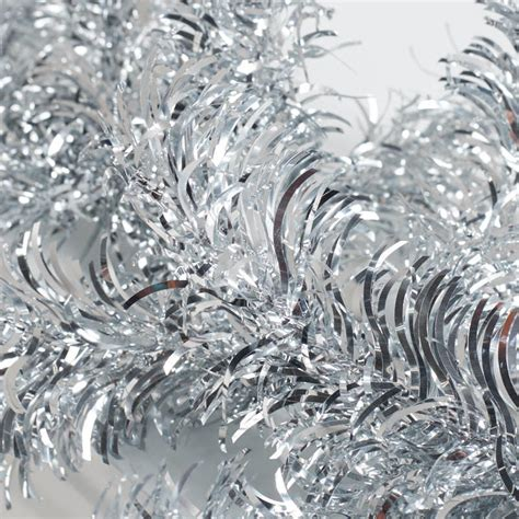 silver tinsel garland on sale holiday crafts