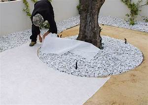 Geotextile Sous Gravier : pose geotextile sous gravier pose du gotextile sous votre ~ Premium-room.com Idées de Décoration