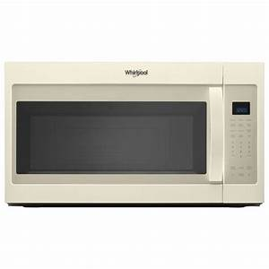 Whirlpool 1 9 Cu  Ft  Over The Range Microwave In Biscuit