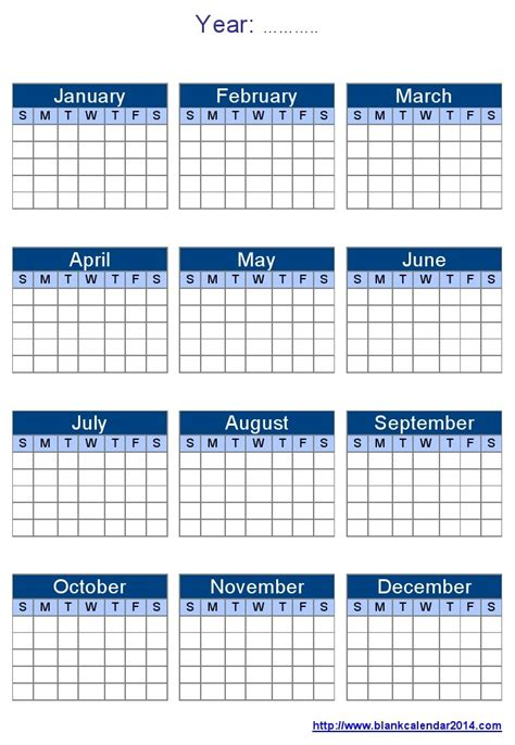 Blank One Month Calendar Template by Blank Year Calendar Template 2018 Calendar Printable